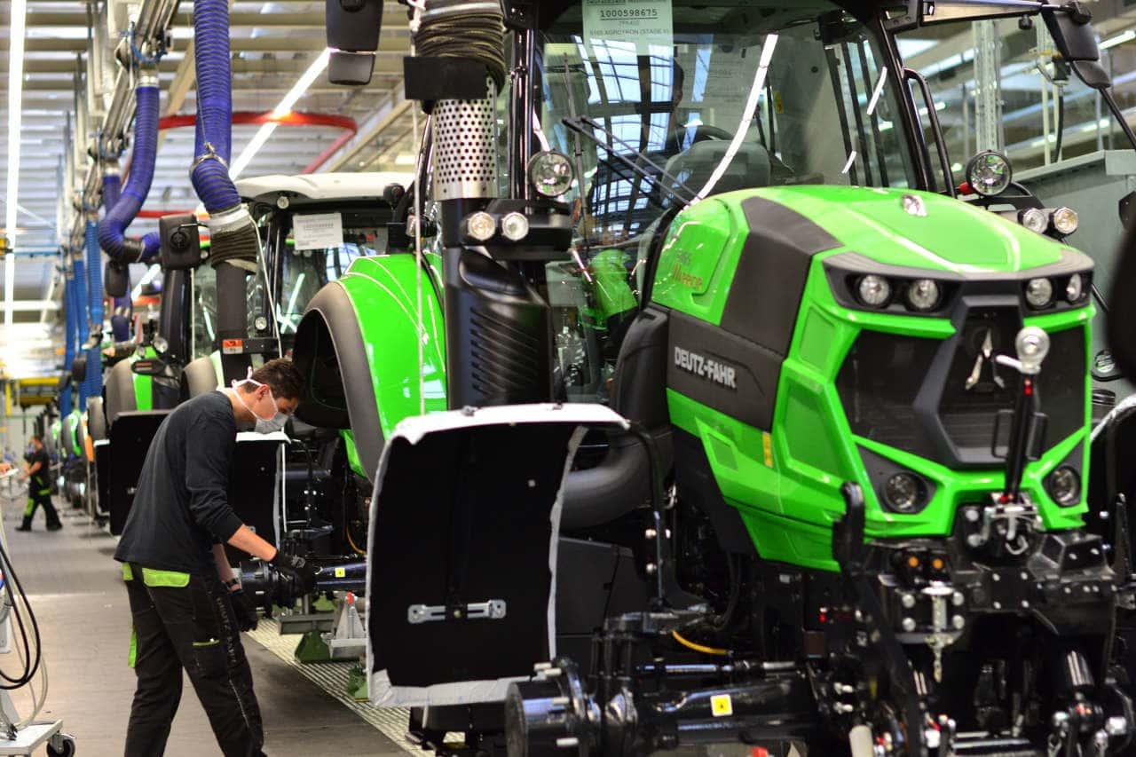 Produktion Same Deutz-Fahr in Lauingen