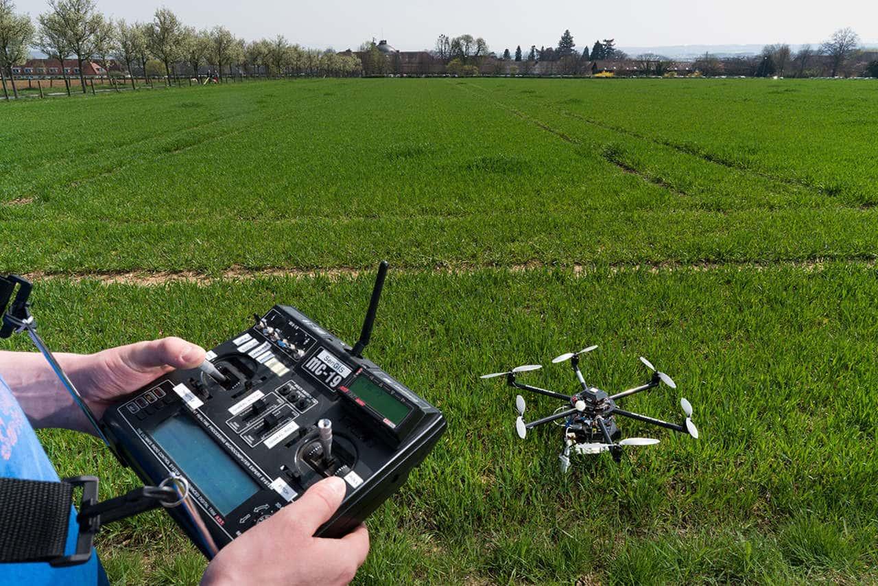 Agrardrohne: Drohne in der Landwirtschaft