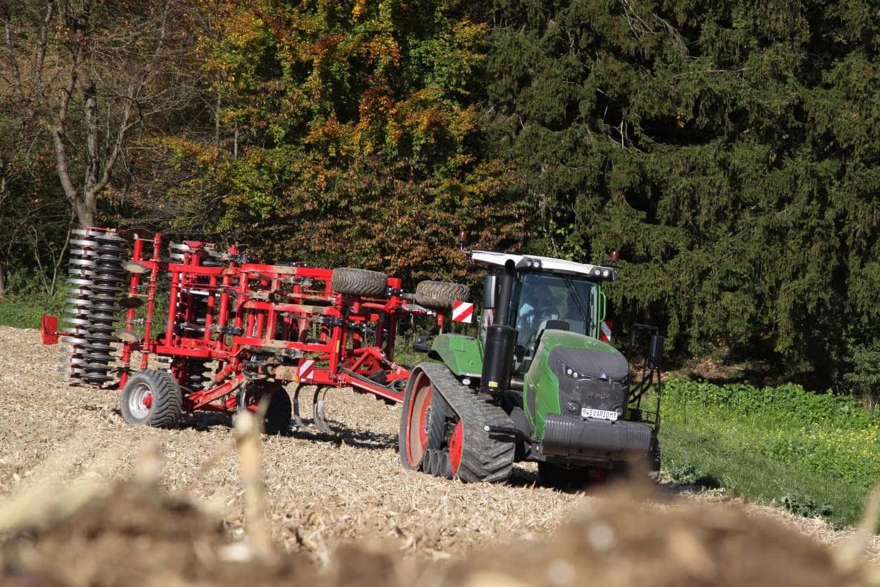 Fendt Raupe Traktor MT