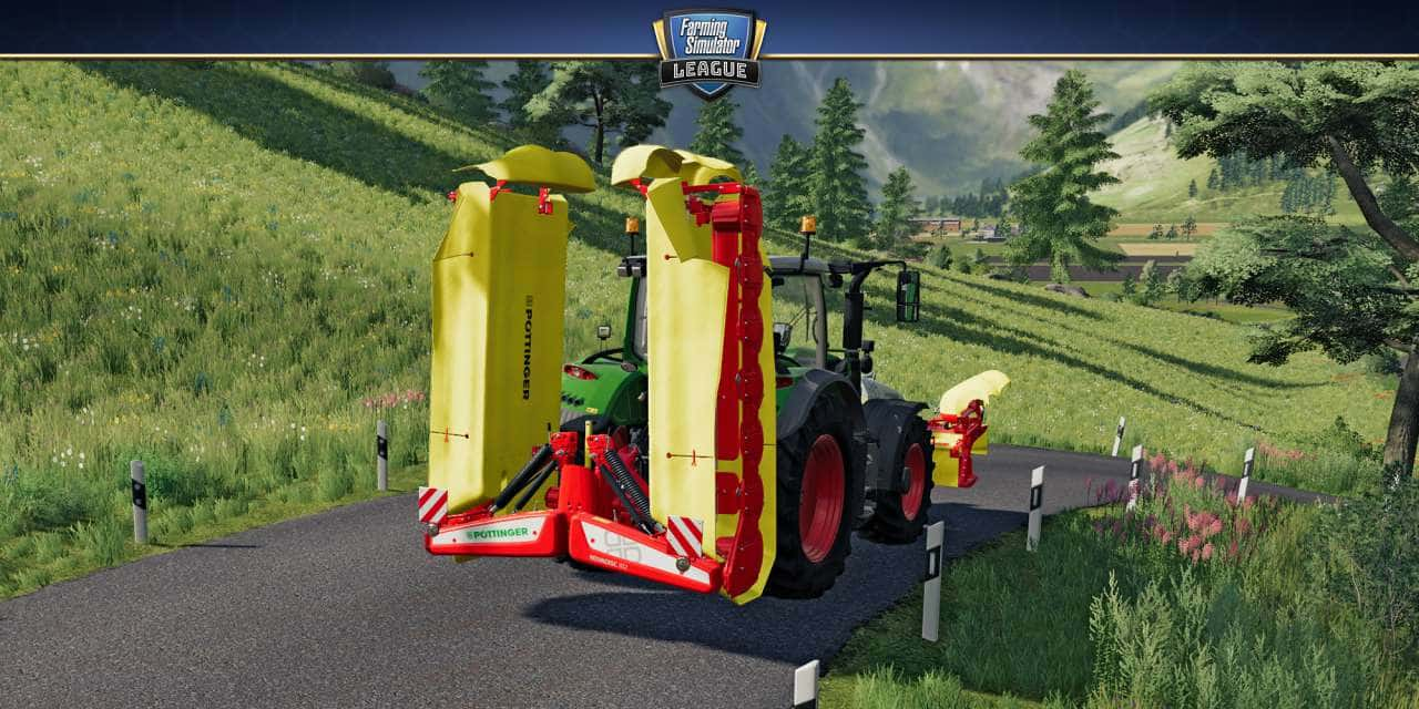 Pöttinger im Landwirtschafts-Simulator