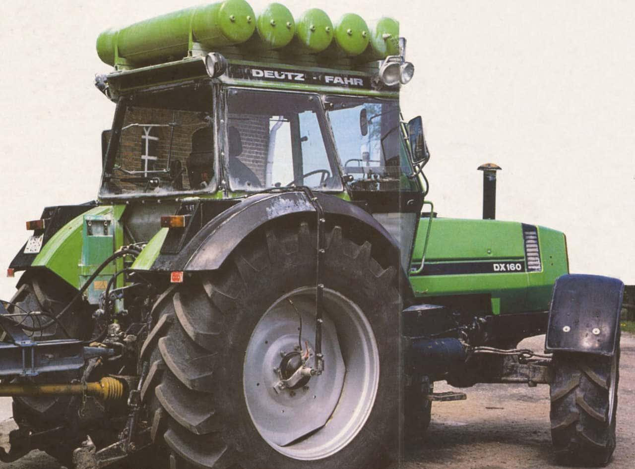 Reifendruckregelanlage am Traktor