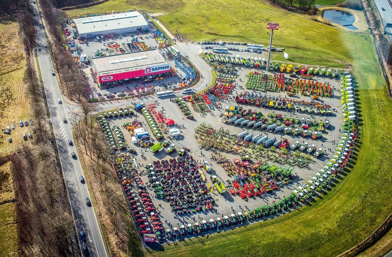 Luftbild der Fricke Gruppe Standort Bockel