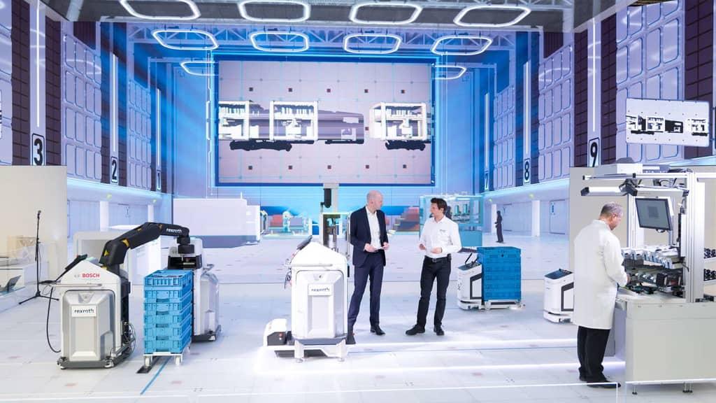 Die Fabrik der Zukunft von Bosch Rexroth