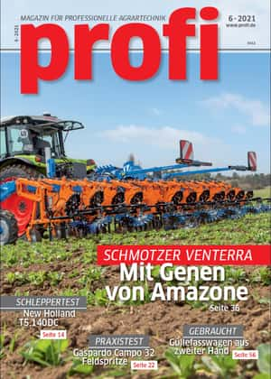 Landtechnik-Magazin profi Titel 6/2021