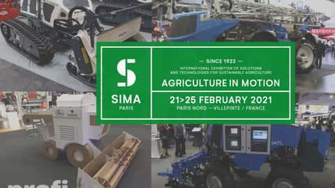 Eindrücke von der Landtechnik-Messe Sima 2019