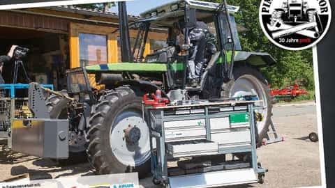 Tuning-Wettbewerb Pimp my tractor mit dem Deutz-Fahr Agrostar 6.21