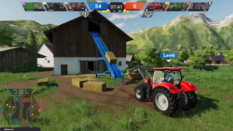 Farming Simulator League virtuelles Ballenstapeln im Landwirtschafts-Simulator 19