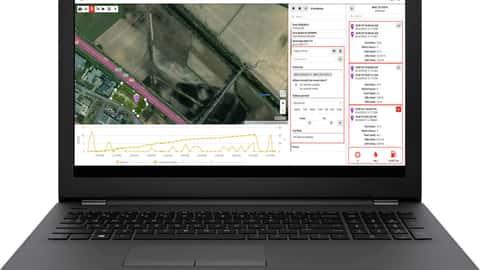 Screenshot vom Tlemetrieportal von Argo