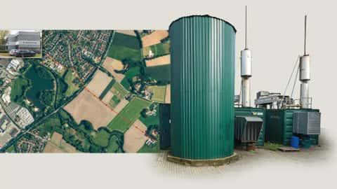 Biogas-Bhkw