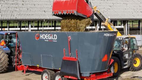 Futtermischwagen von Hoegild