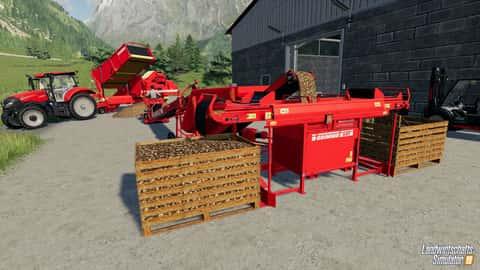 Grimme-maschinen im Landwirtschafts-Simulator 19