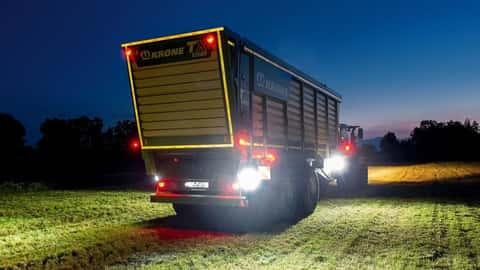 Beleuchtung an Landmaschinen
