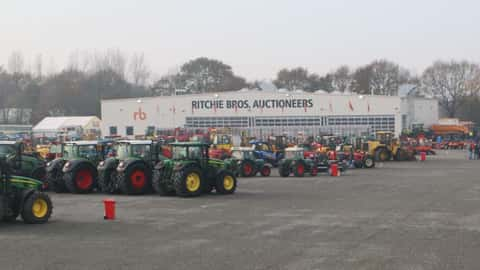 Richie Bros Auktion in Meppen 2015