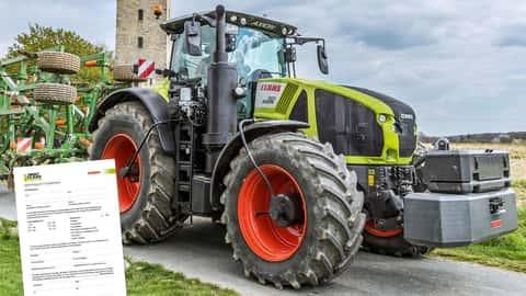 Claas Traktor Axion