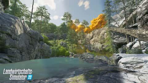 Screenshot Landwirtschafts-Simulator Jahreszeiten