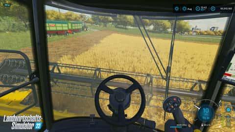Screenshot aus dem Landwirtschafts-Simulator 22 von Giants Software