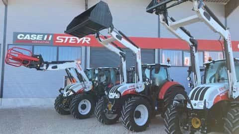 Steyr Frontlader MX