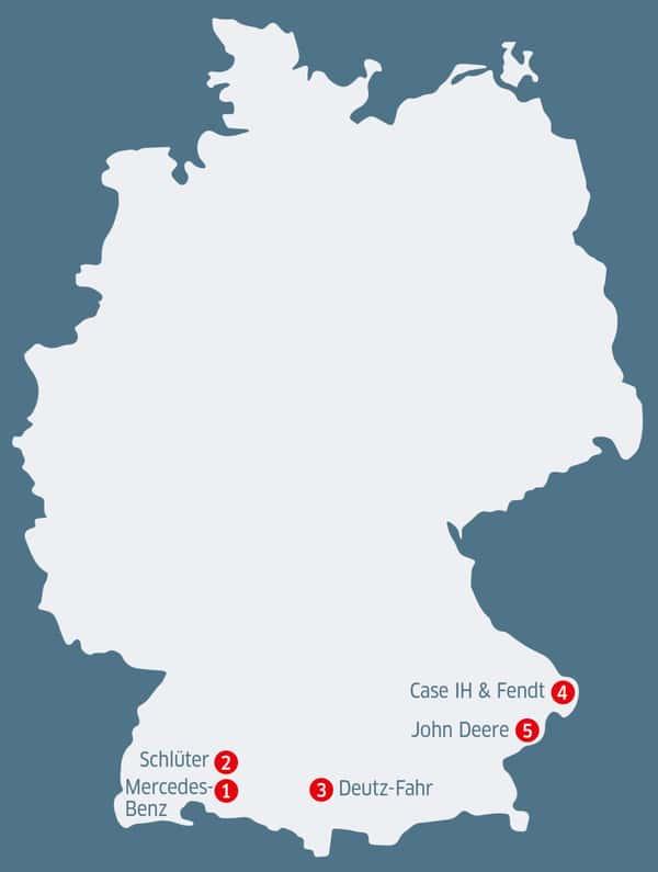 Gebrauchtteilehändler im Süden Deutschlands