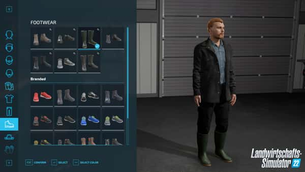 Landwirtschafts-Simulator 22 Charaktere